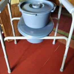 Приборы и аксессуары - Стул-туалет для пожилых людей и инвалидов fs894l, 0