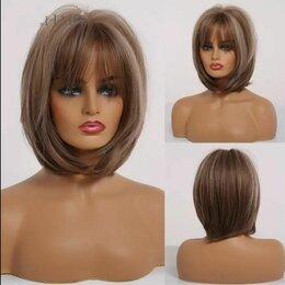 Аксессуары для волос - Парик короткий Каре Боб с челкой, 0
