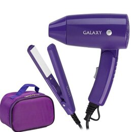 Щипцы, плойки и выпрямители - Набор для укладки волос galaxy GL4720 (подарочный), 0