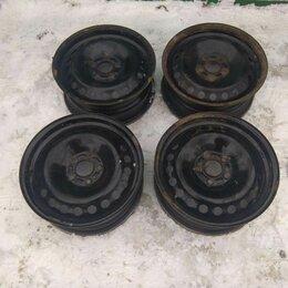 Шины, диски и комплектующие - Штамповка 4 шт., колеса на Ford, диски r16 ford, 0