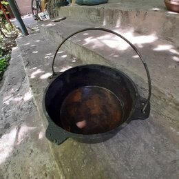 Туристическая посуда - Чугунный котелок 3 литра, 0