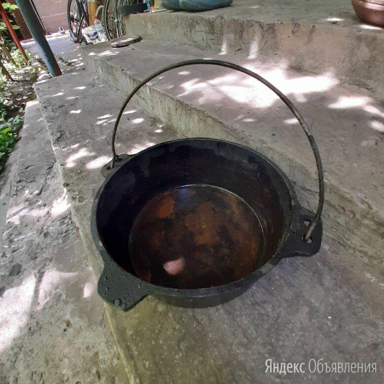 Чугунный котелок 3 литра по цене 1500₽ - Туристическая посуда, фото 0