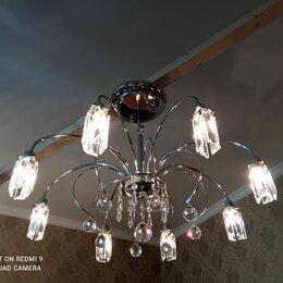 Люстры и потолочные светильники - Люстра хрустальная потолочная, 0