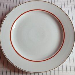 Блюда, салатники и соусники - Болшое фарфоровое блюдо, Дулево 35 см, 0