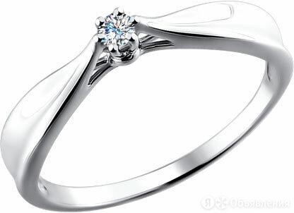 Помолвочное кольцо SOKOLOV 1011464_s_17-5 по цене 13740₽ - Кольца и перстни, фото 0