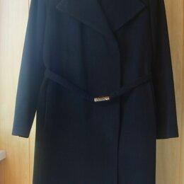 Пальто - Классическое черное пальто, 0