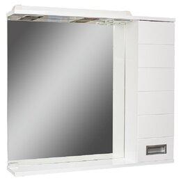 Полки, стойки, этажерки - Шкаф-зеркало Cube 65 Эл.правый Домино, 0