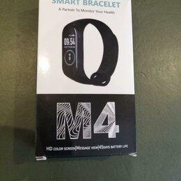 Умные часы и браслеты - М4 - Смарт браслет a partner to monitor your health, 0