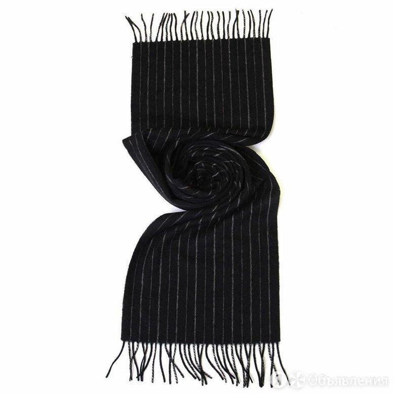 Зимний классический шарф в полоску ClubSeta 17120 по цене 1450₽ - Шарфы, платки и воротники, фото 0