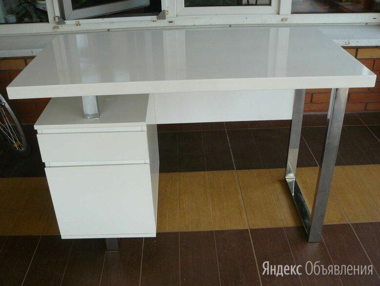 Стол компьютерный бюрократ dl-hg003/white по цене 5500₽ - Компьютерные и письменные столы, фото 0
