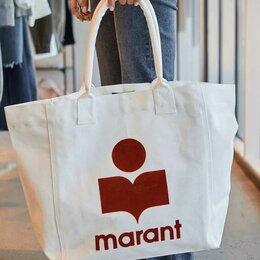 Сумки - Сумка-тоут Isabel Marant с логотипом, 0