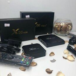 ТВ-приставки и медиаплееры - Смарт приставка / Смарт Тв приставка Smart box x96, 0