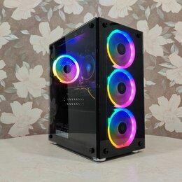 Настольные компьютеры - Игровой компьютер ryzen 5 2600/rx 570 8гб/16/ SSD, 0