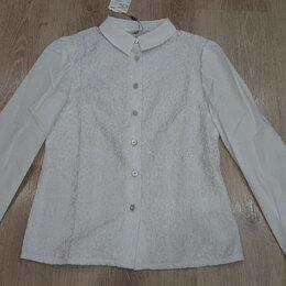 Рубашки и блузы - Новая белая нарядная блузка Карамелли, 0