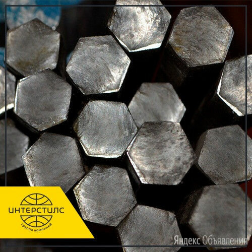 Шестигранник стальной ст.45 22 мм ГОСТ 8560-78 по цене 39900₽ - Готовые строения, фото 0