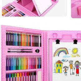Рисование - Чемоданчик набор юного художника для рисования art set 208 предметов, 0