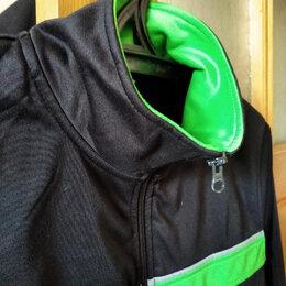 Толстовки - Черно зеленая толстовка, 0