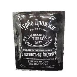 Ингредиенты для приготовления напитков - Дрожжи спиртовые Турбо 77, 0