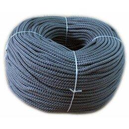 Веревки и шнуры - Канат полипропиленовый плетеный 16мм 2600кг, 0