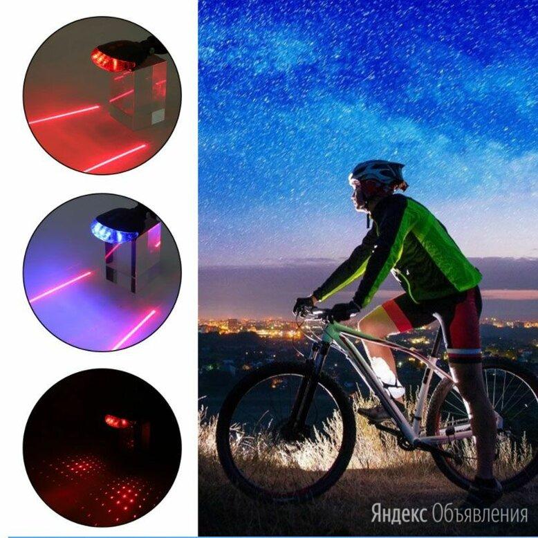Водонепроницаемый велосипедный задний фонарь-стоп по цене 550₽ - Фонари, фото 0
