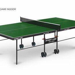 Столы - Теннисный стол Game Indoor green, 0