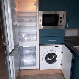 Мебель для кухни - Кухня со стиральной машиной и холодильником, 0