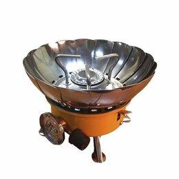 Туристические горелки и плитки -  Газовая плита-трансформер Tulpan-S TM-400, 0