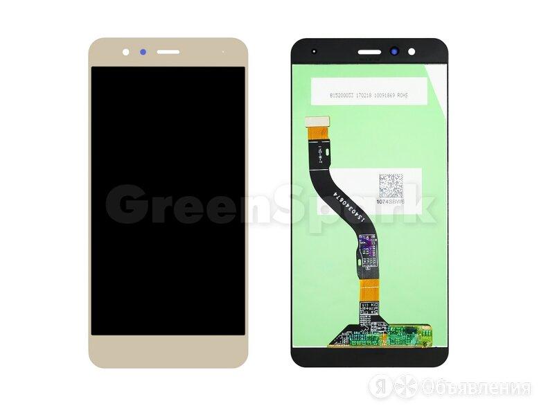 "Дисплей для Huawei P10 Lite (5.2"") (WAS-LX1) + тачскрин (золото) по цене 1550₽ - Дисплеи и тачскрины, фото 0"