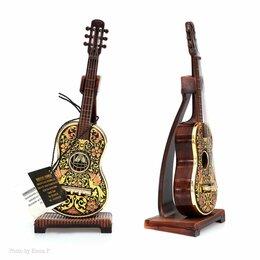 Сувениры - Сувенирная гитара в технике дамаскинаж Anframa, 0