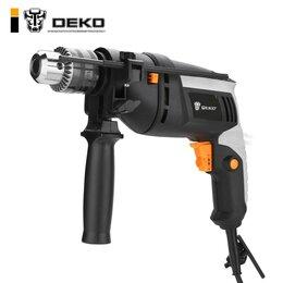 Дрели и строительные миксеры - Ударная дрель Deko DKID650W , 0