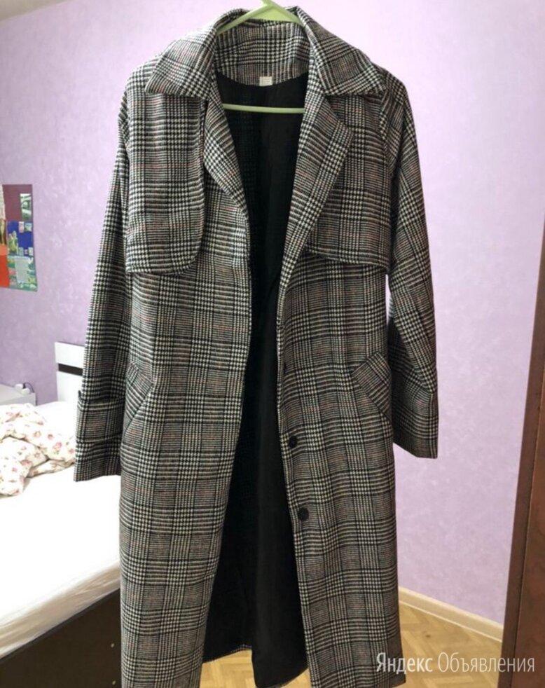 пальто женское в клетку по цене 1500₽ - Пальто, фото 0