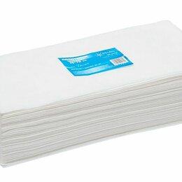 Полотенца - Полотенце малое «White Line» 35*70 пачка белый спанлейс (50 шт), 0