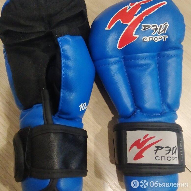 Перчатки рэй спорт для рукопашного боя  по цене 500₽ - Перчатки для единоборств, фото 0