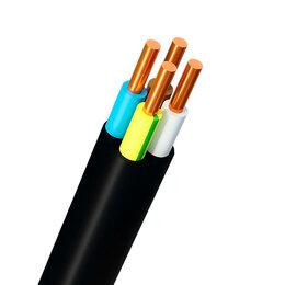 Кабели и провода - Кабель ВВГнг(А)-LS 4х1,5 ок(N, PE)-0,66 ГОСТ…, 0