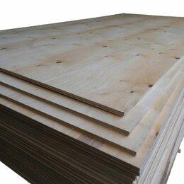 Древесно-плитные материалы - Фанера хвойная ФСФ 21 мм 2440х1220 сорт 3/3 (Братск), 0