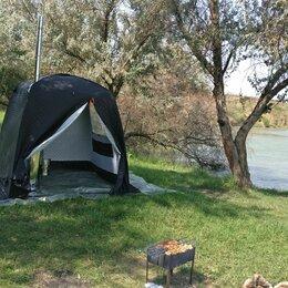 Палатки - Мобильная баня-палатка Blek с понорамным окном, 0