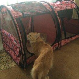 Лежаки, домики, спальные места - Выставочная палатка- клетка Ладиоли, двойная, 0
