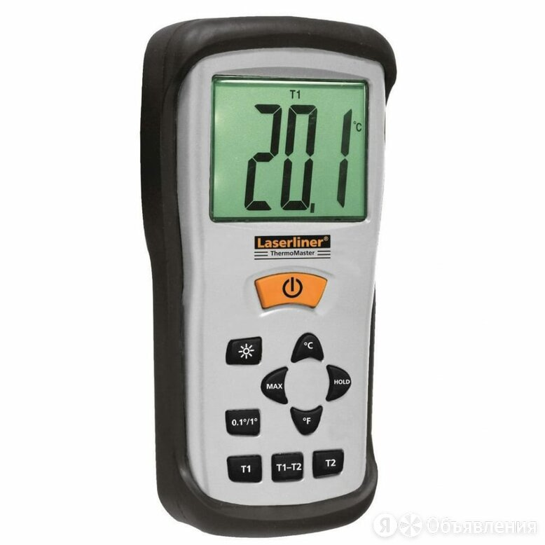 Контактный электронный термометр Laserliner ThermoMaster по цене 11892₽ - Запорная арматура, фото 0