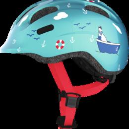 Спортивная защита - Велошлем детский ABUS SMILEY 2.0, бирюзовый (Размер: M (50-55 см)), 0