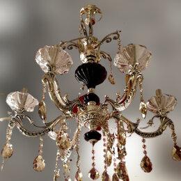 Люстры и потолочные светильники - Люстра подвесная 82090 подсвечник в серебре, 0
