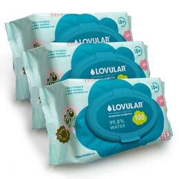 Влажные салфетки - Салфетки влажные'Lovular' swet kiss, 3х100 шт, 0