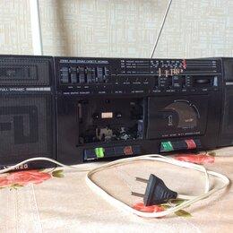 Музыкальные центры,  магнитофоны, магнитолы - Двухкассетный магнитофон, 0