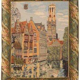 """Картины, постеры, гобелены, панно - Бельгийский настенный гобелен """"Каналы Брюгге"""", 0"""