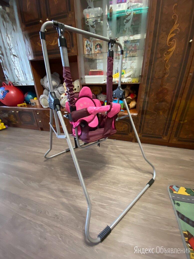 Детские качели Luna 4 Kids с ремнём безопасности  по цене 1700₽ - Качели, фото 0