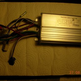 Мото- и электротранспорт - Контроллер для электро самоката  48 v500 w 30 a, 0