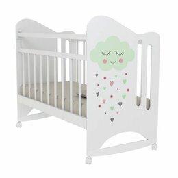 Кроватки - Детская кроватка VDK Nicole колесо-качалка, 0