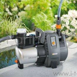 Фильтры, насосы и хлоргенераторы - Садовый насос напорный Gardena 6000/6 Inox Premium 1300Вт 6000л/час, 0
