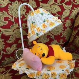 Настольные лампы и светильники - Лампа ночник детская с игрушкой, 0