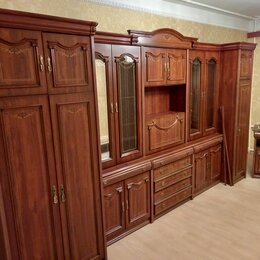Шкафы, стенки, гарнитуры - Шкаф стенка красное дерево, 0