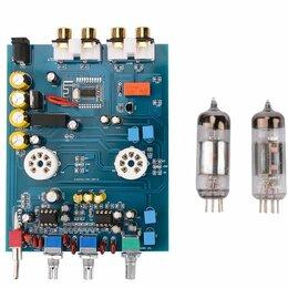 Усилители и ресиверы - Ламповый предусилитель 6J5, 0
